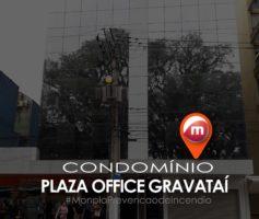 Plaza Office instala sistemas de prevenção contra incêndio