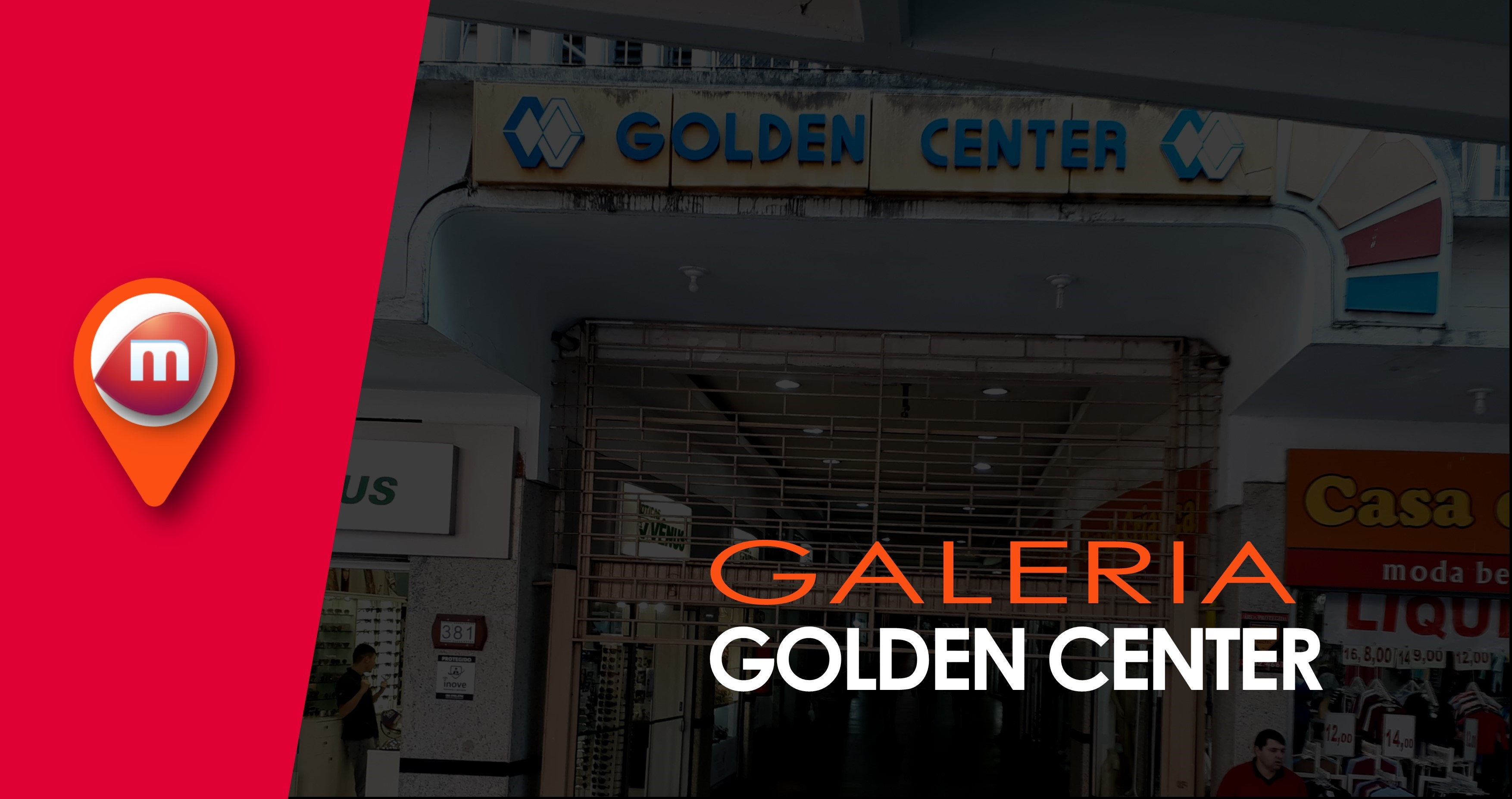67d1415cc86 A Galeria Golden Center foi o primeiro shopping de Canoas